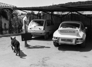 James Hunt dog