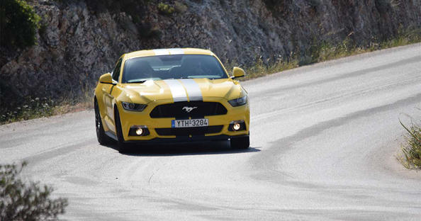 ford mustang 5.0 δοκιμή
