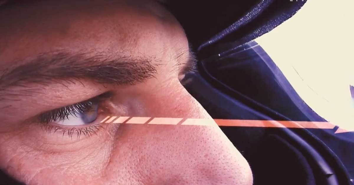 Nico Hulkenberg eye tracking