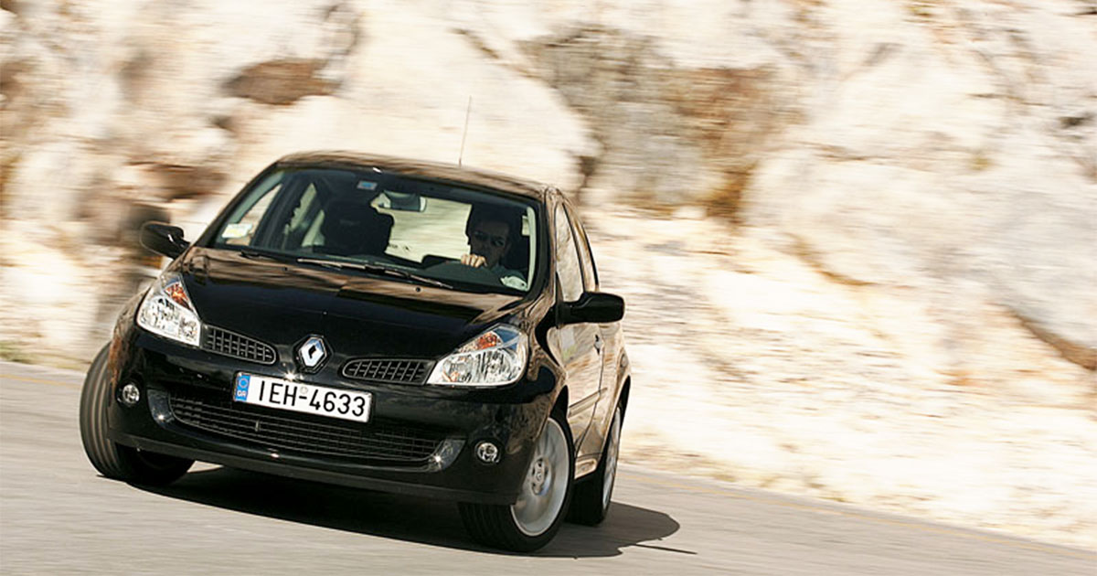Renault Clio RS δοκιμή