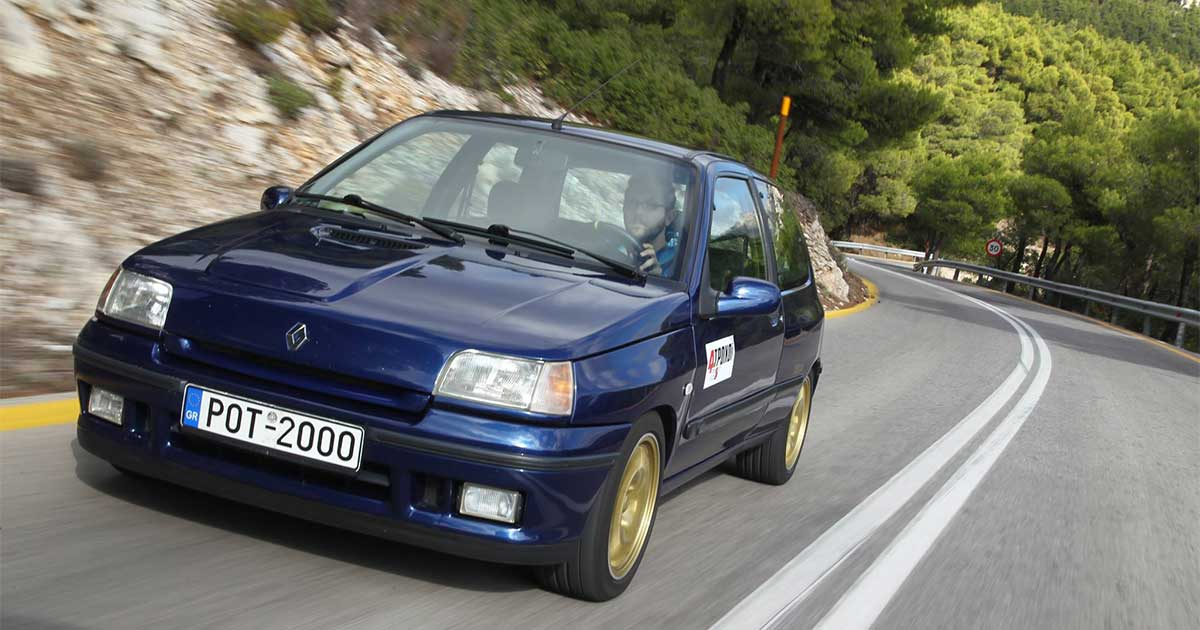 Renault Clio Williams δοκιμή