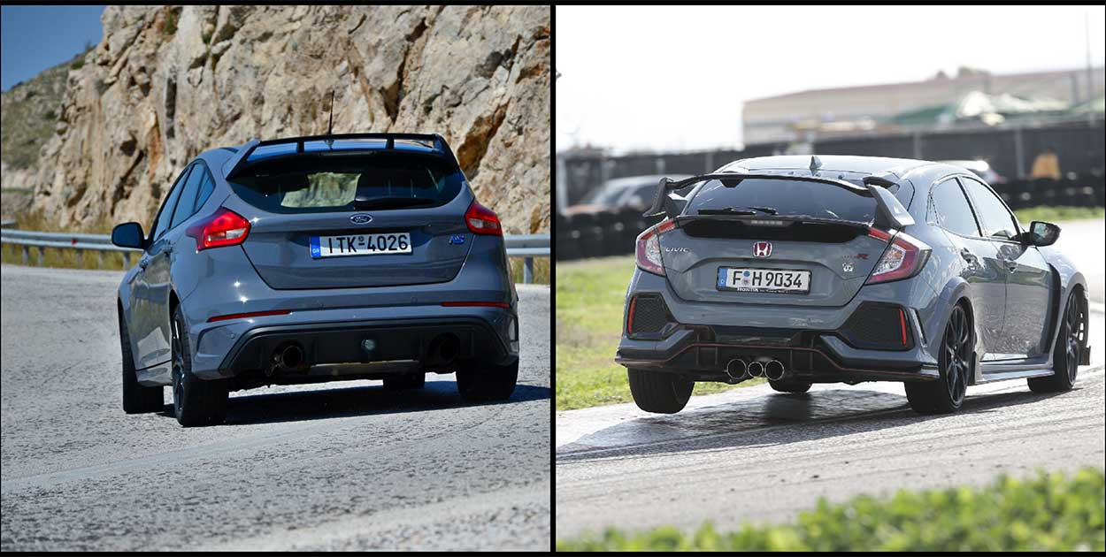 Ford Focus RS vs Type R