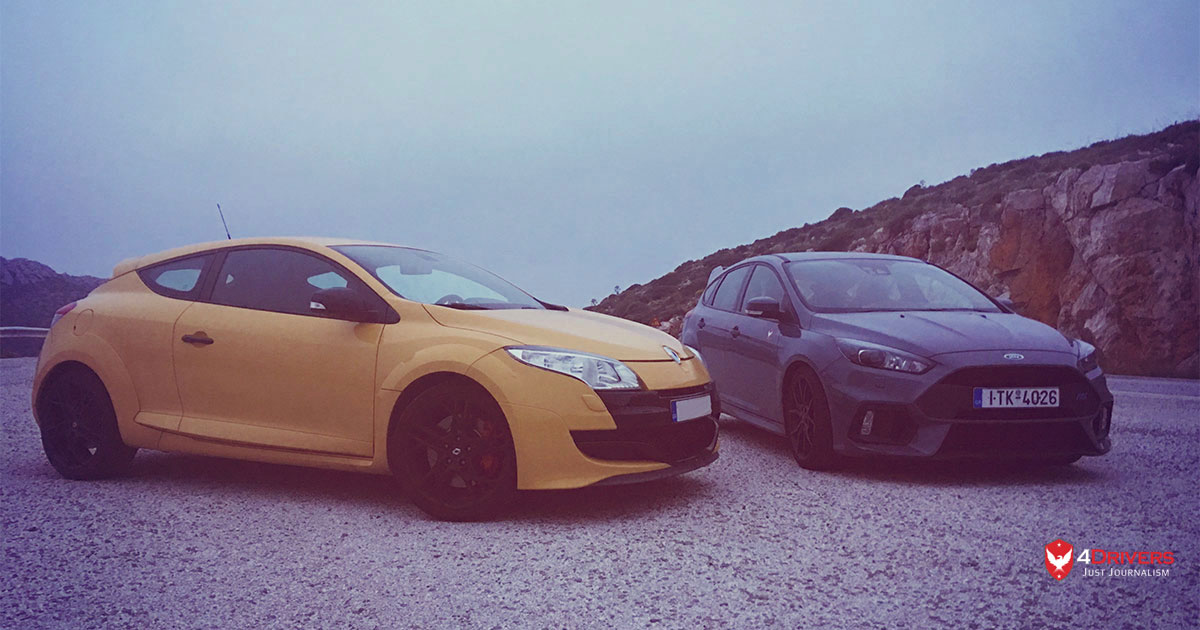 Focus RS vs Renault Megane RS