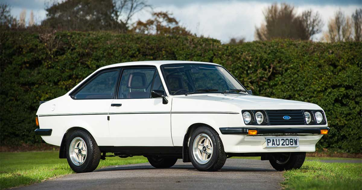 Ford Escort Mk2 RS 2000 for sale