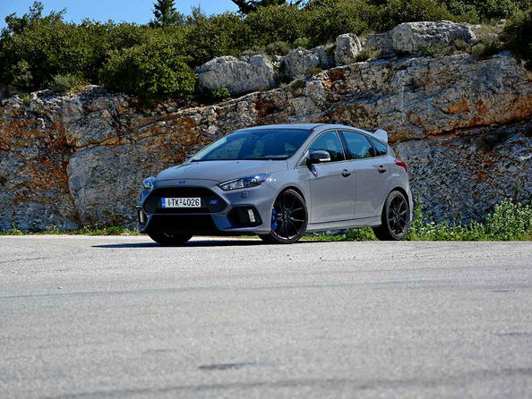 Ford Focus Rs δοκιμή