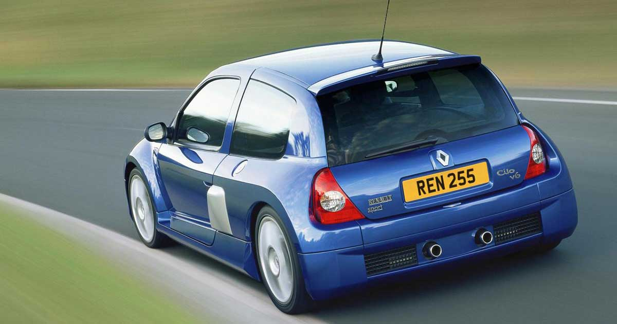 Renault Clio V6 widow maker