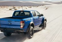 Ford Ranger Raptor έρημος