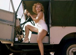 Marilyn Monroe Land Rover