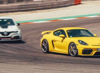 cayman gt4 vs megane rs trophy