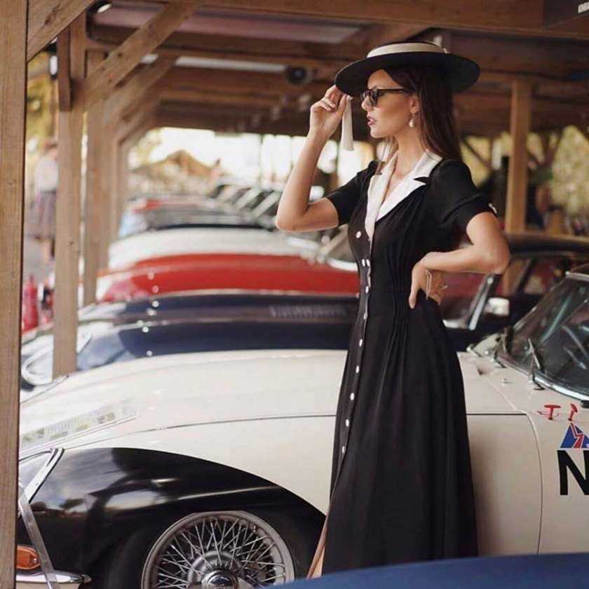 Goodwood revival girl