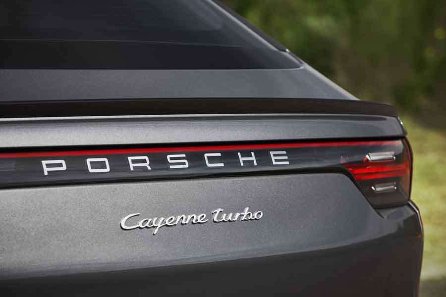 Cayenne Coupe Turbo logo
