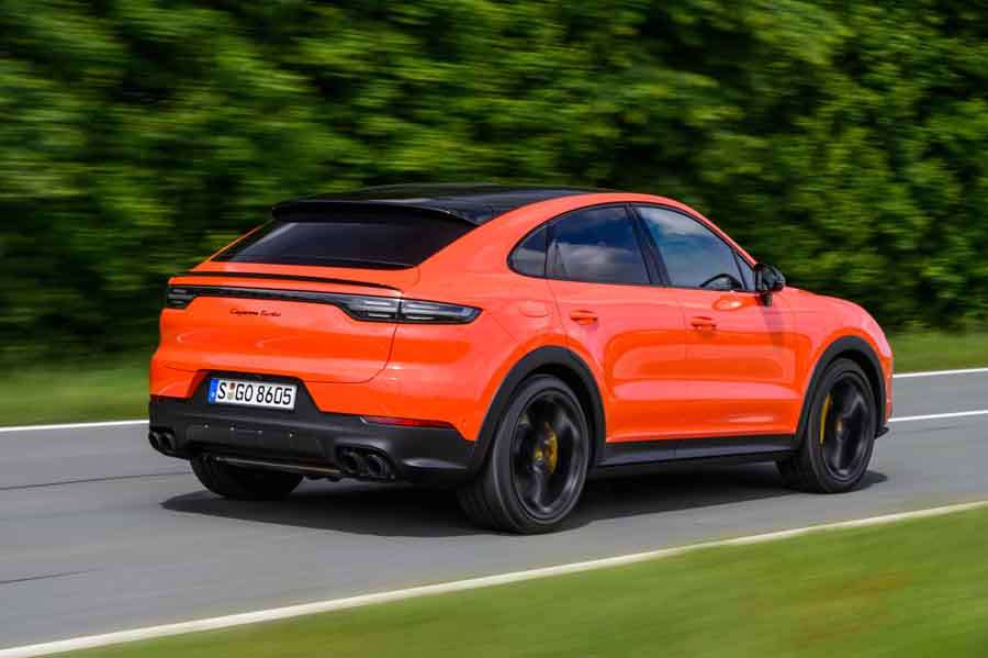 Cayenne Coupe πίσω μέρος