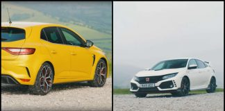 Honda Civic Type R vs Renault Megane R.S. Trophy