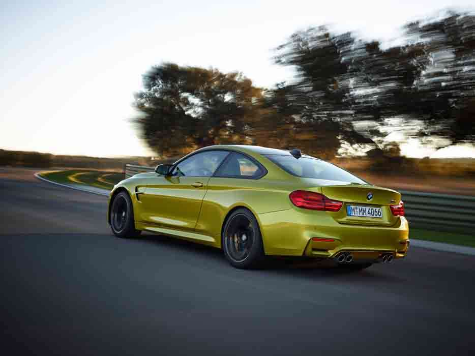 BMW M4 Coupe πίσω