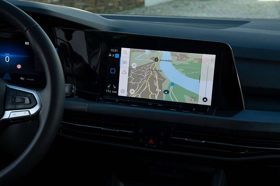 VW golf Mk8 infotainment
