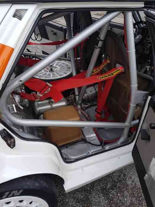 Lancia roll cage
