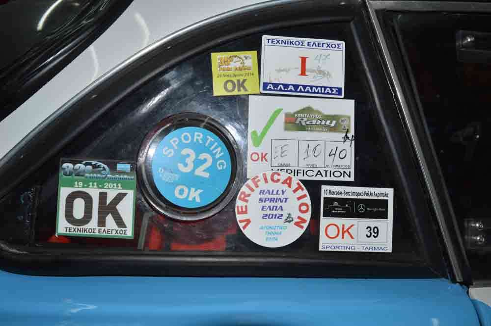Alpine A110 racing sticker