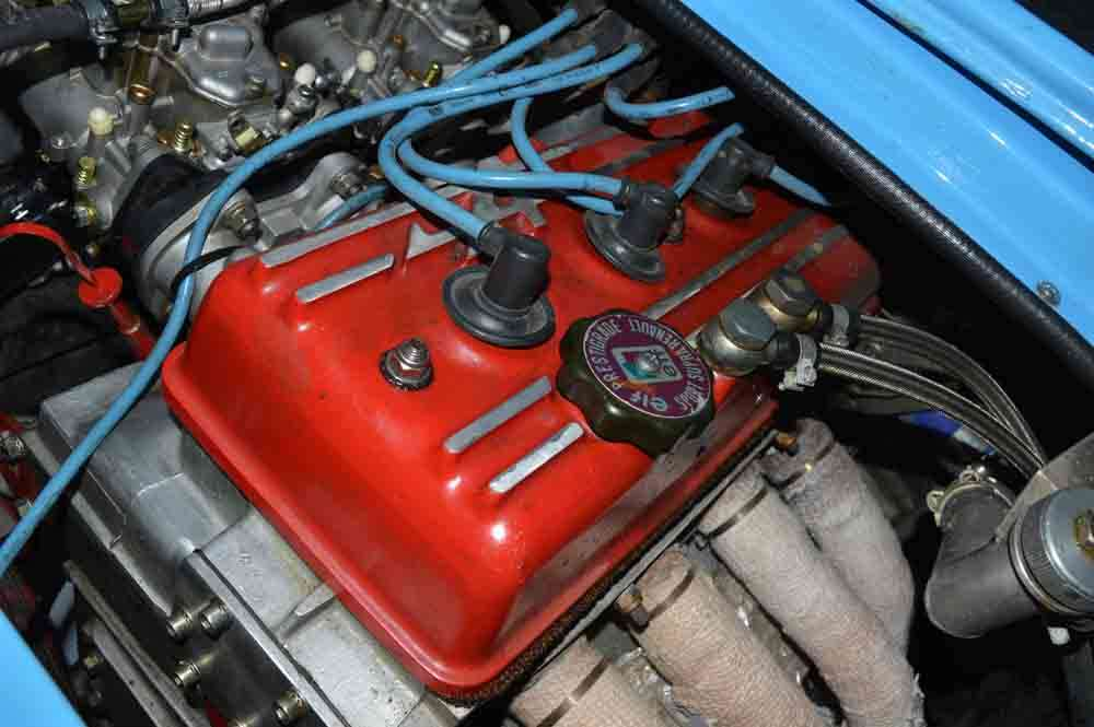 Alpine A110 Group 4 engine