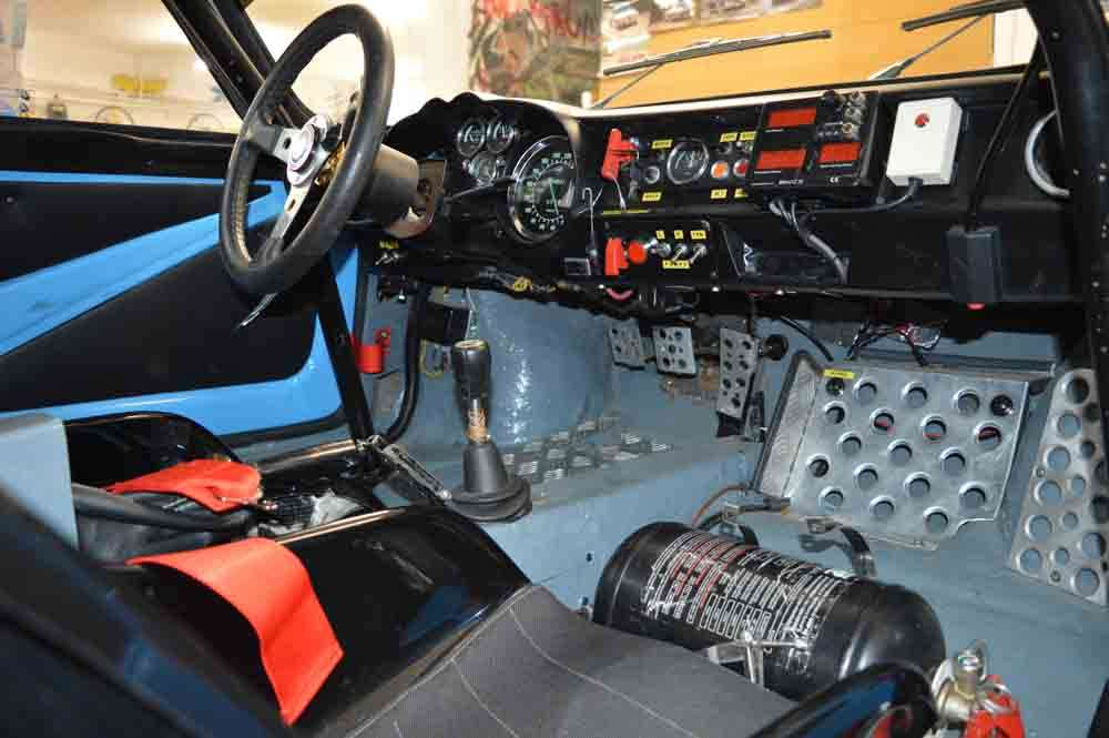 Alpine A110 Group 4 interior