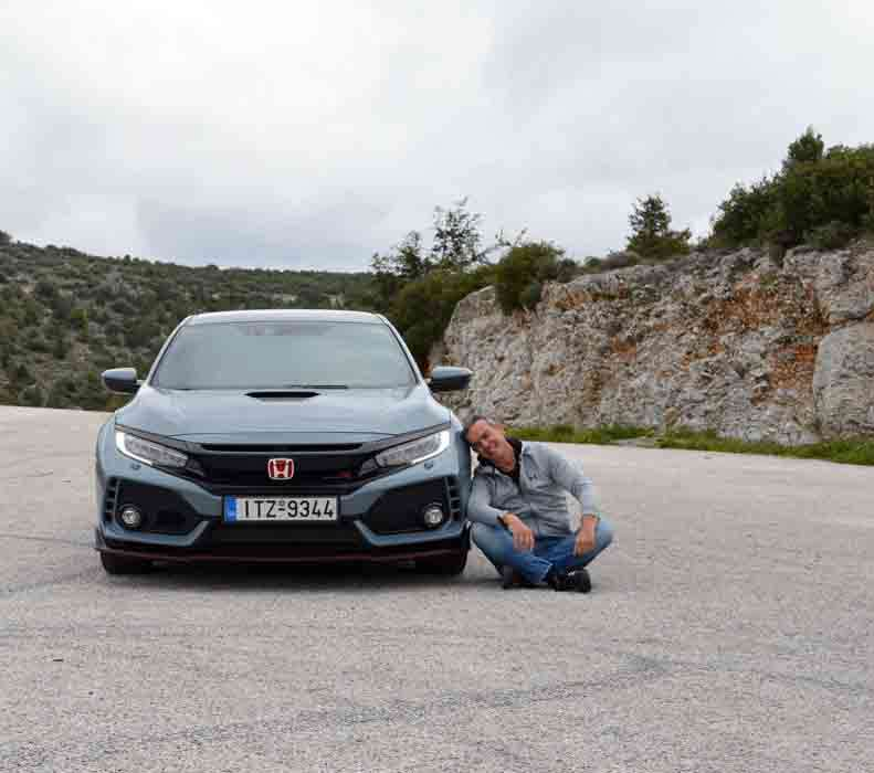 Honda Civic Type R δοκιμή