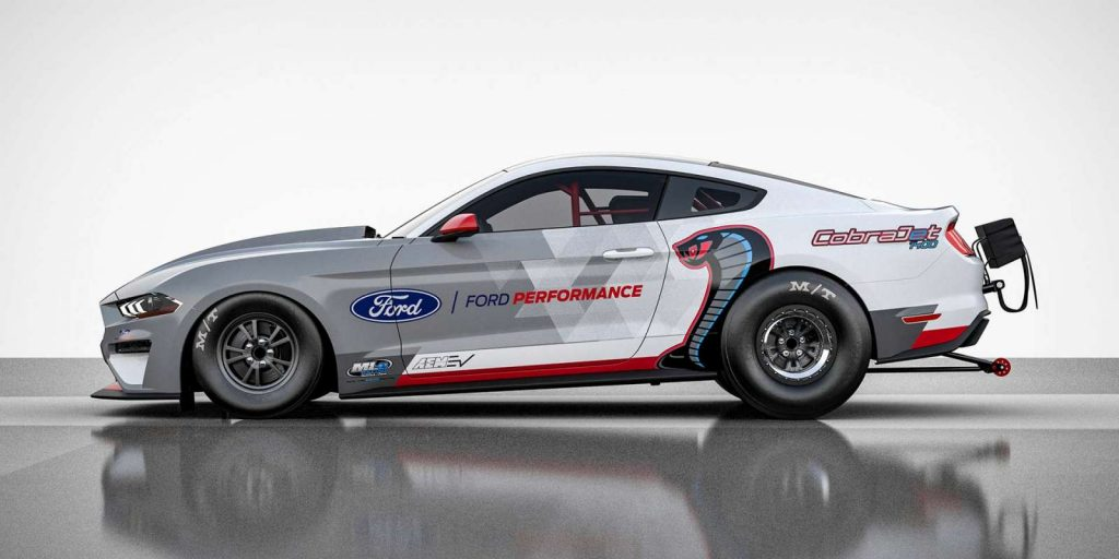 Ford Mustang dragster ηλεκτρική