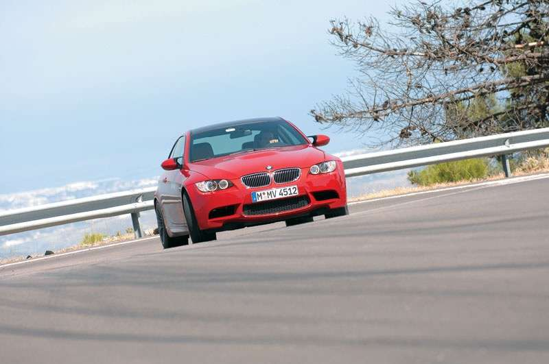 BMW M3 E92 sideways