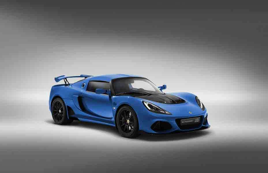 Lotus Exige 20th Anniversary Laser Blue