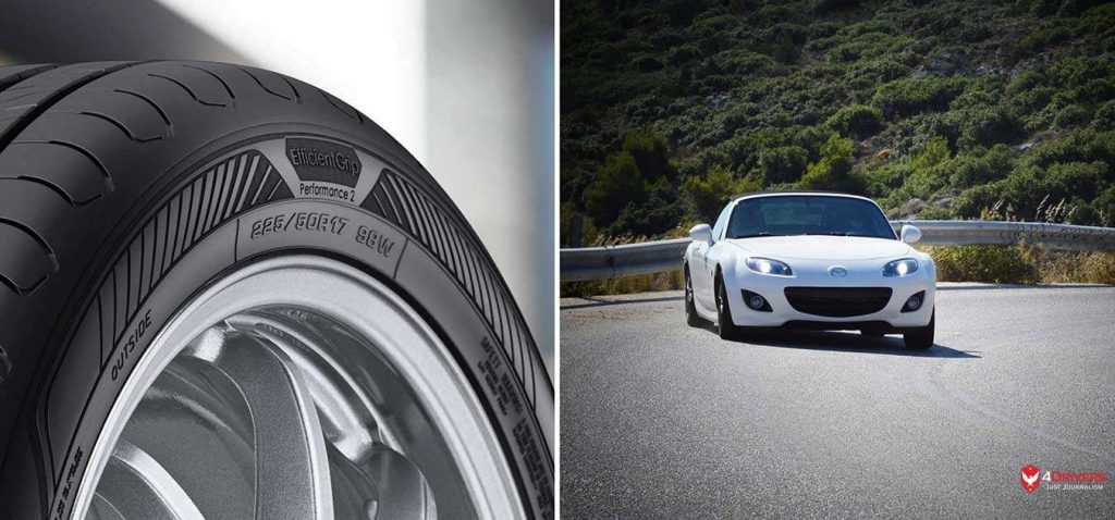 Goodyear EfficientGrip Performance 2 Mazda MX-5