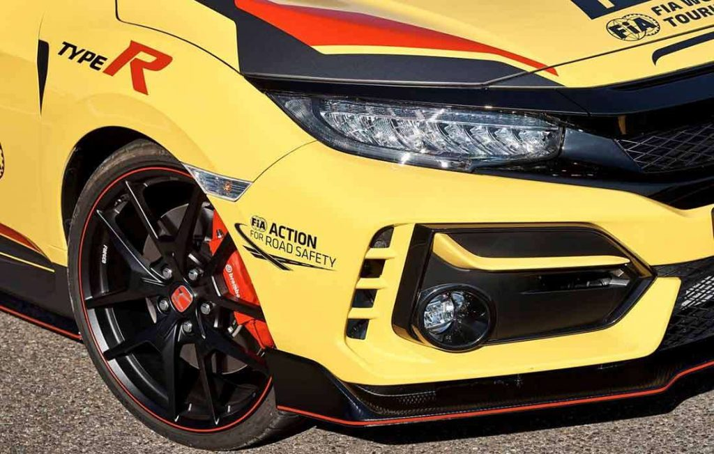Honda Civic Type R WTCR Official Safety_Car