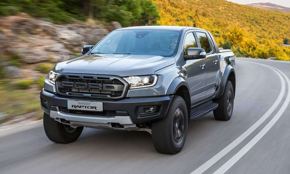 Ford Ranger Raptor δοκιμή