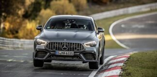 Mercedes-AMG GT 63 S 4MATIC+ record