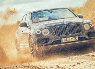 Bentley off-road