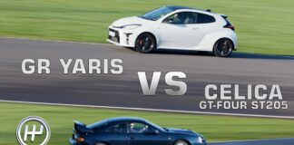 Yaris GR vs Celica