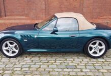 BMW Z3 British Green