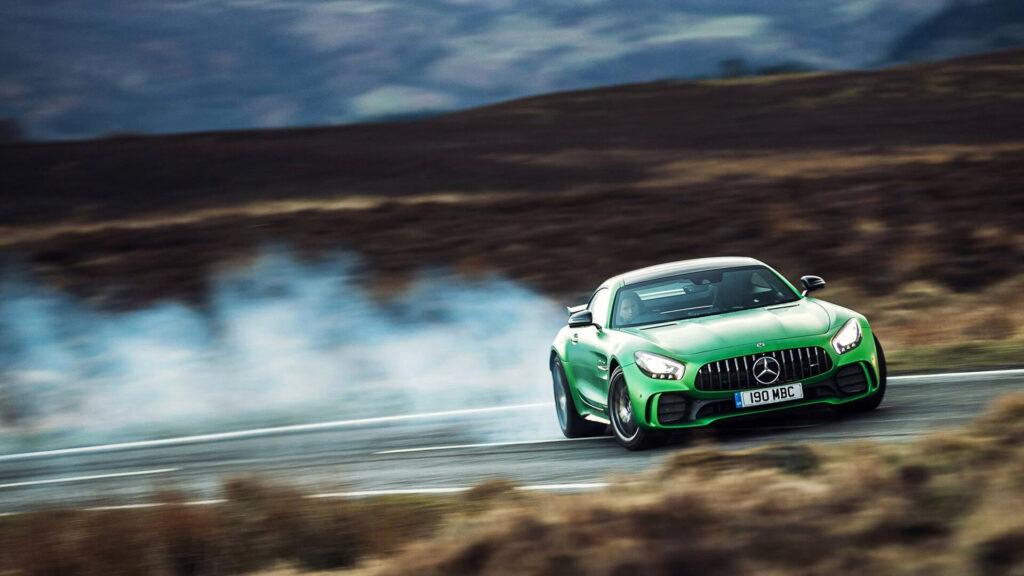 Drift Mercedes AMG GT