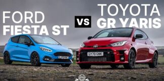 Ford Fiesta vs Toyota Yaris