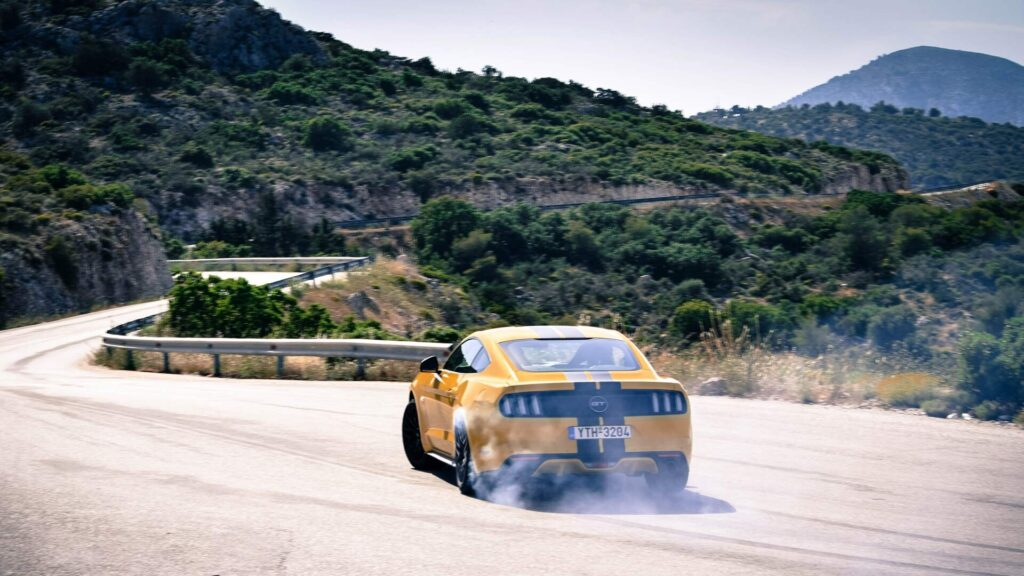 Ford Mustang drift