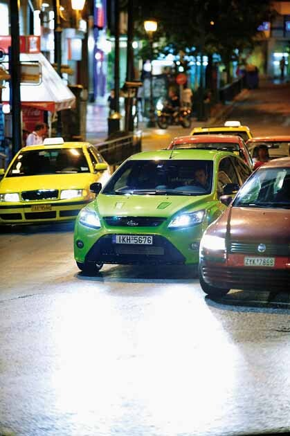 Ford Focus RS Mk2 δοκιμή