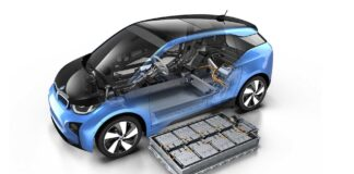 BMW i3 battery electric