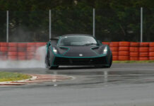 Lotus Evija drift