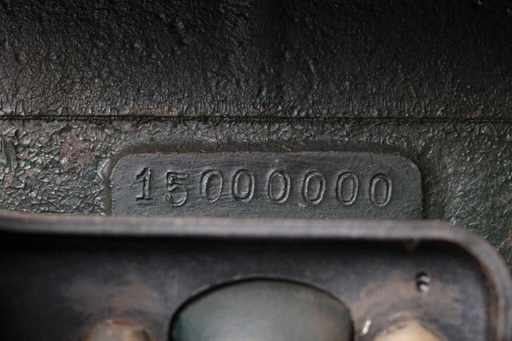 Ford Model T serial number